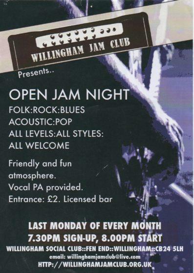 Jam flyer A