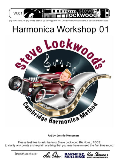 Harmonica Workshop 01 cover